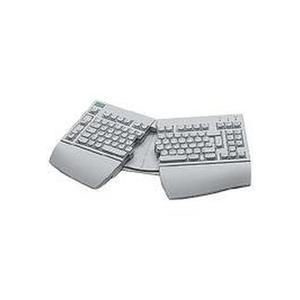 FUJITSU Tastatur KBPC E USB (ergonomische Tastatur)