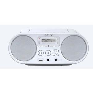 SONY ZS-PS50W CD-Boombox AM/FM mit USB weiß