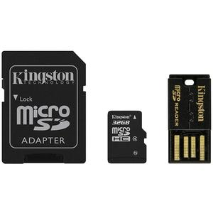 KINGSTON microSDHC 32GB Multi-Kit G2, Class 4