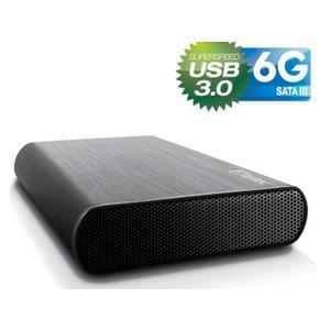 FANTEC DB-AluSky U3-6G schwarz USB 3.0 Ext. HDD Gehaeuse