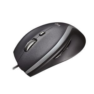 LOGITECH M500 Clamshell Maus Corded USB, schwarz