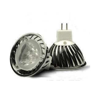 LED Lampe 3x1Watt GU5,3 Weiss, 210 lm