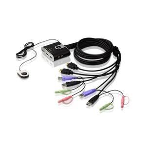 ATEN CS692 2P USB HDMI KVM Switch Audio