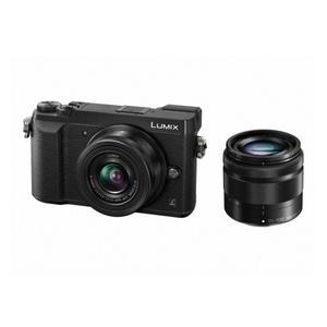 PANASONIC GX80WEG-K Systemkamera 16MP schwarz