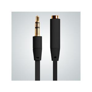 Aux-Kabel Extension, black