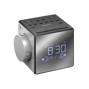 SONY ICFC1PJ Uhrenradios schwarz
