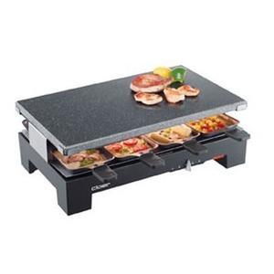 CLOER Raclette mit Naturstein 6420