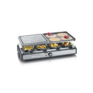SEVERIN RG 2344 Raclette Partygrill mit Naturgrillstein &