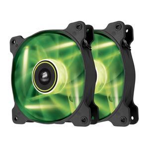 CORSAIR SP120 High Static Pressure Lüfter, grüne LED, Twin