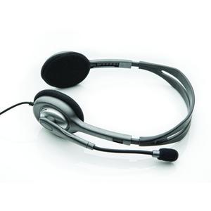 LOGITECH Kopfhörer Stereo Headset H110 / 3,5-mm-S