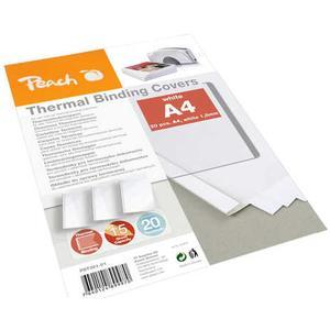 PEACH Thermobindemappen weiss für 15 Blätter A4 20 Stk