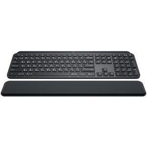 LOGITECH MX Keys plus MX Palm Rest schwarz, USB/Bluetooth,DE