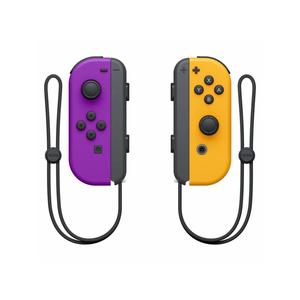 NINTENDO Switch Joy Con 2er Set, Neon-Lila/Neon-Orange