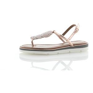 Sandalen und Sandaletten Metallic