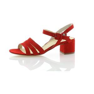 Sandalen und Sandaletten Rot