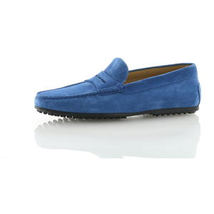Mokassins Blau