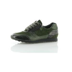 Schnürschuhe Grün