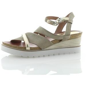 Sandalen und Sandaletten Beige