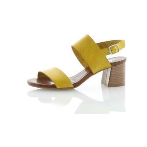 Sandalen und Sandaletten Gelb