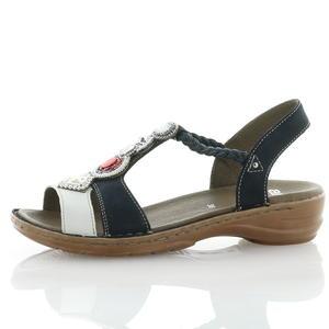 Sandalen und Sandaletten Blau