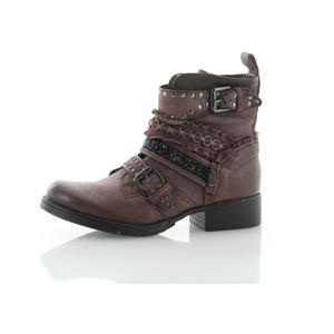 Boots und Stiefeletten Rot