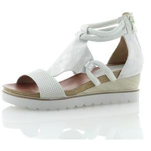 Sandalen und Sandaletten Weiß