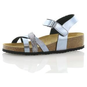 Sandalen und Sandaletten Grau