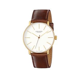 Herren- und Damen-Armbanduhr Analog Quarz Leder Unisex, Modell: Vienna