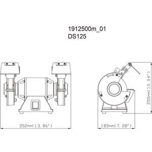 Doppelschleifmaschine DS 125