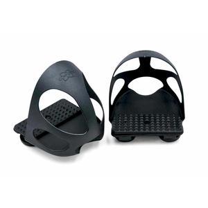 Steigbügeleinlage mit Durchrutschschutz 1 Paar = 2 Stück für Kinder schwarz