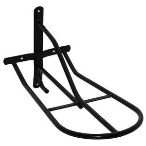AMKA Sattelhalter Pferd Sattelträger schwarz für Wandmontage