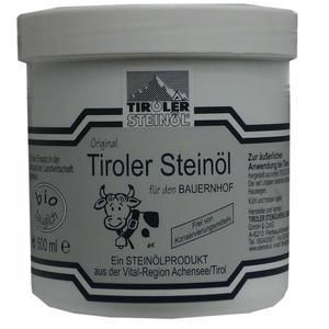 Tiroler Steinöl für den Bauernhof 500 ml | Tiroler Steinoel bei Entzündungen, Wundbehandlung, Scheuerstellen