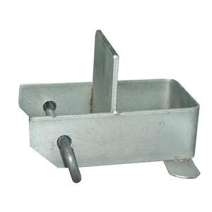 Stangenauflage Metall flache Auflage *