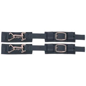 Harry`s Horse Pferde Deckenbrustverschluss 1 Paar Brusterweiterung Decke d.blau
