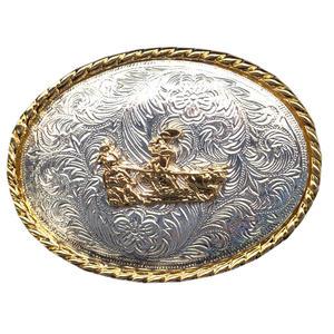 Gürtelschnalle Team Roper Wechselgürtel Buckle Western Rodeo Concho Cowboy Gürtel