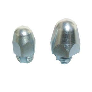 Franks selbstschneidende Gewindestollen Rundkegelstollen Höhe 16 mm, M 10 8 Stück