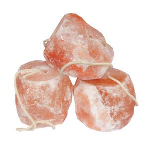 Leckstein Salzleckstein Mineralleckstein für Pferde mit Kordel ca. 2 bis 3 kg pro Stück mit Kordel, 3er Set
