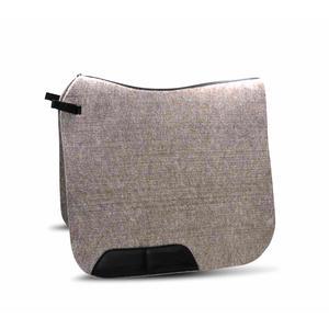 AMKA Filzschabracke Dressur aus Naturfilz mit Lederverstärkung