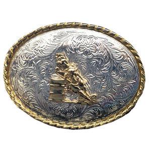 Gürtelschnalle Show Jumper Wechselgürtel Buckle Western Rodeo Concho Cowboy Gürtel