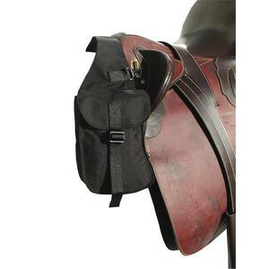 AMKA Packtasche vorne Vorderpacktasche für Pferde schwarz klein 013/04C