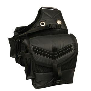 Satteltasche Packtasche für Pferde wattiert mit 4 seitlichen Taschen 013/88