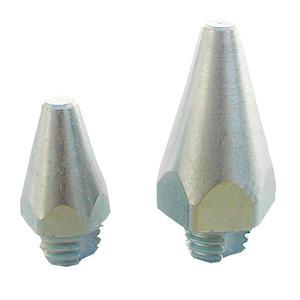 Franks selbstschneidende Gewindestollen Spitzkegelstollen Höhe 30 mm, M 10 4 Stück