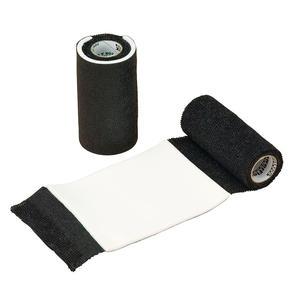 Waldhausen Power Flex AFD Bandage mit integrierter Wundauflage schwarz selbsthaftend
