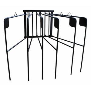 AMKA Pferdedeckenhalter 6 Arme für 6 Pferdedecken Schabracken mit leichten Transportschäden oder kleinen Kratzer