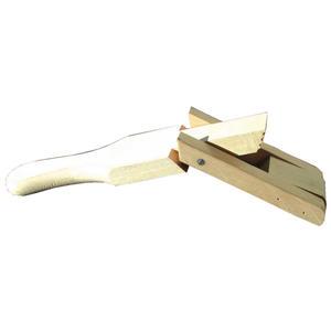 Sattelgurtspanner Gurtspanner aus Holz