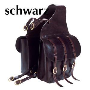 Doppelpacktasche Satteltasche für Pferde aus Leder 013/33