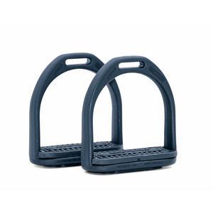 AMKA Steigbügel aus Kunststoff Compositi für Kinder 10 cm schwarz 015/010A