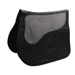 AMKA Schabracke Anti-Slip mit Rückenpolster aus Zellkautschuk schwarz