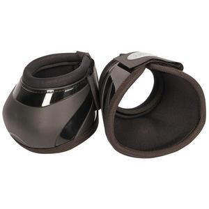 Hufglocken Springglocken mit verstärkter Schale, Knopf innen um ein Drehen zu verhindern, Neoprenfutter, schwarz, Gr. M