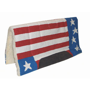 Stars Stripes Westernpad Western Pad in Stars and Stripes Design